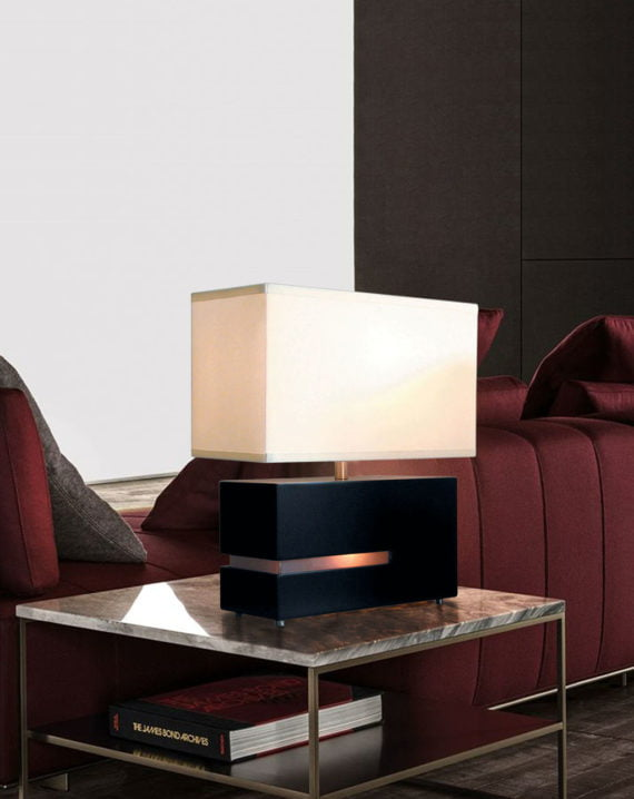 Zen Reclining Table Lamp Lifestyle
