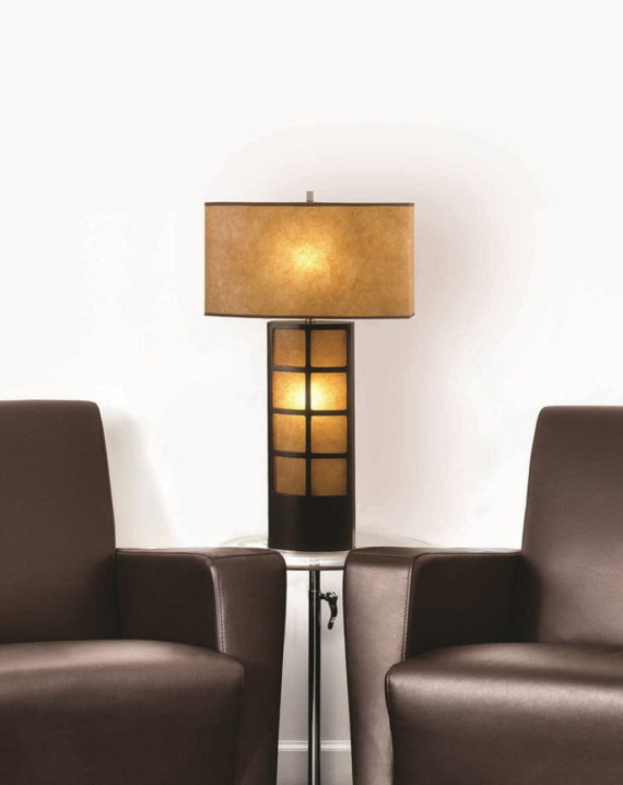 Ventana Table Lamp Lifestyle