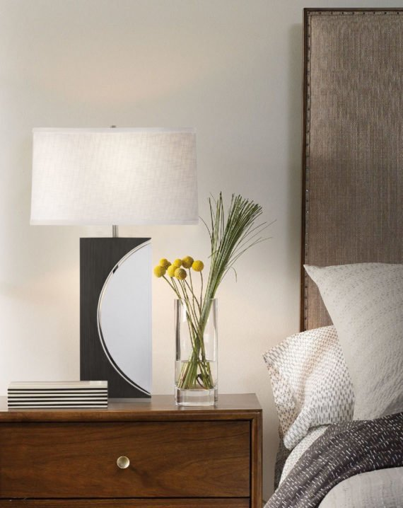 Half Moon Table Lamp Lifestyle