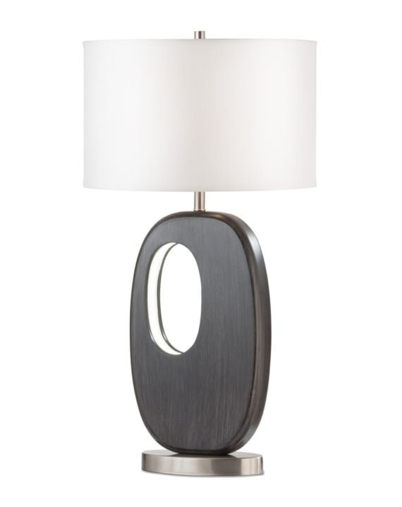 Offset Standing Table Lamp