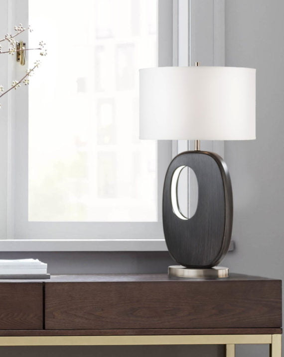 Offset Standing Table Lamp Lifestyle