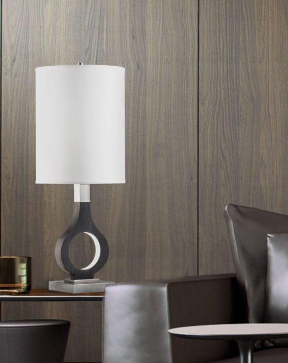 Keyhole Table Lamp Lifestyle