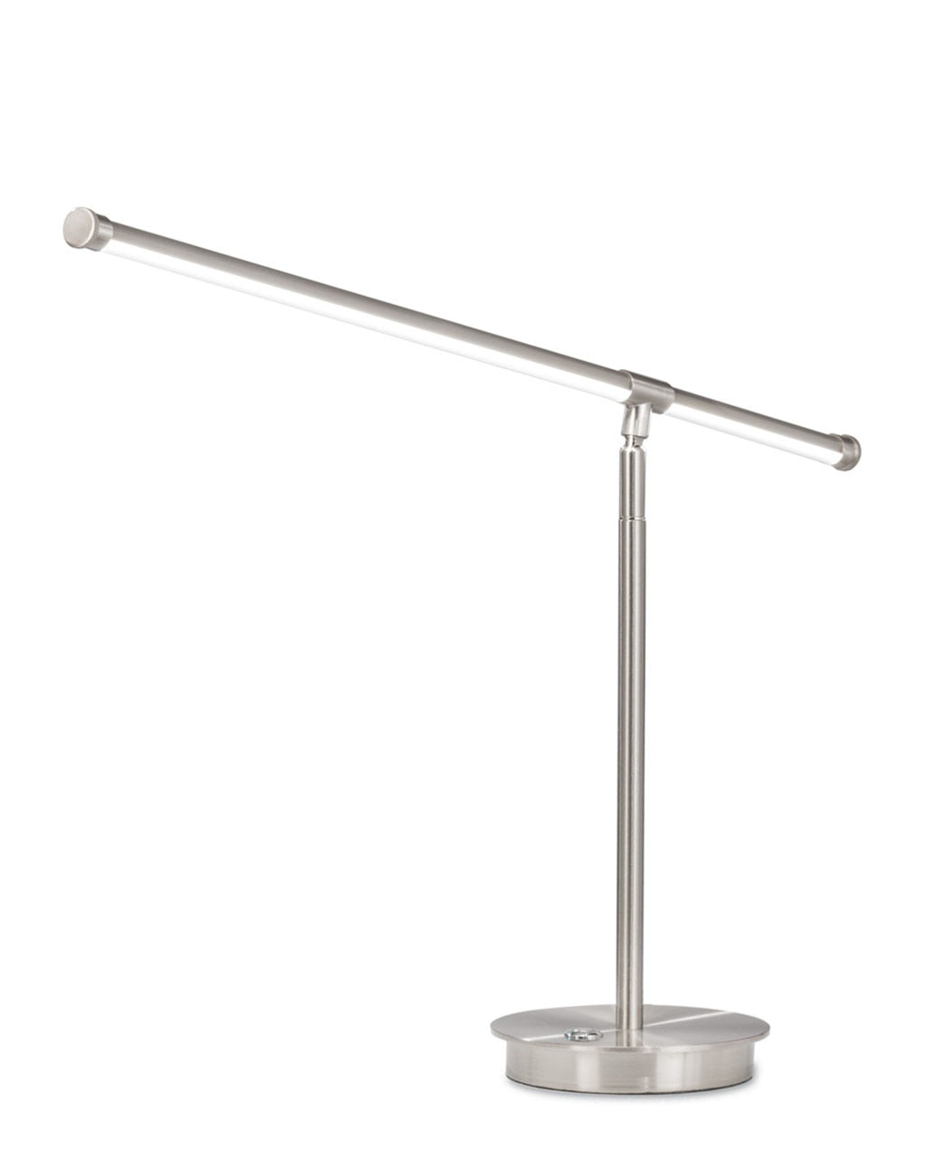 Sentry Table Lamp, Satin Nickel
