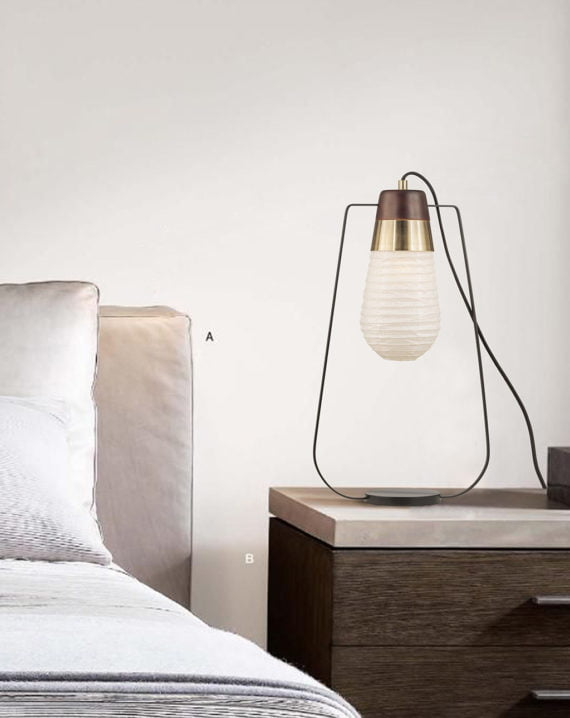 Sunset Standing Table Lamp Lifestyle