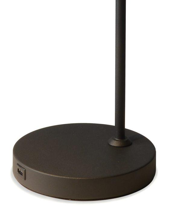 Cove Table Lamp (Matte Black) 04