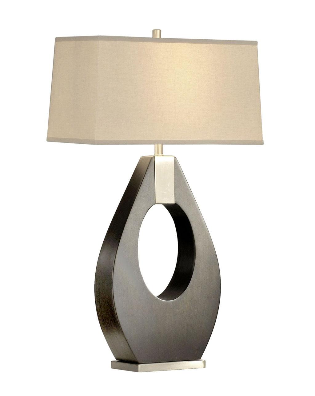 Pearson Table Lamp, Pecan