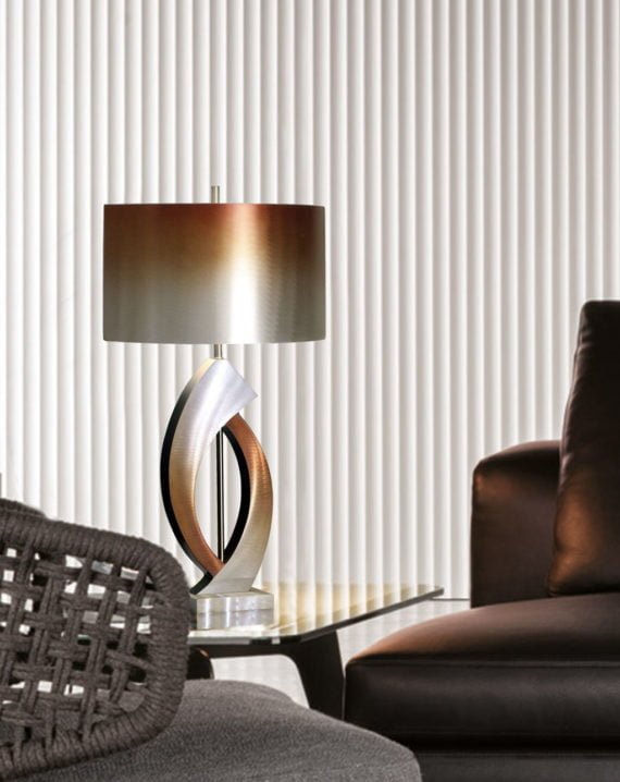Swerve Table Lamp Lifestyle