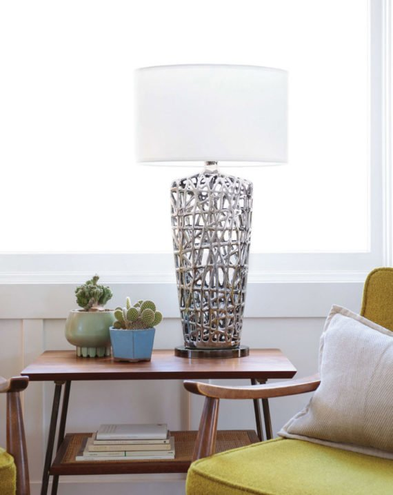 Bird's Nest Heart Table Lamp Lifestyle