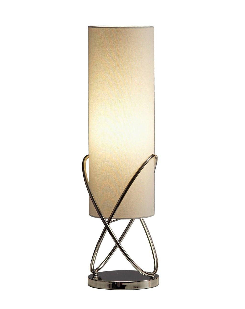 Internal Table Lamp, Chrome