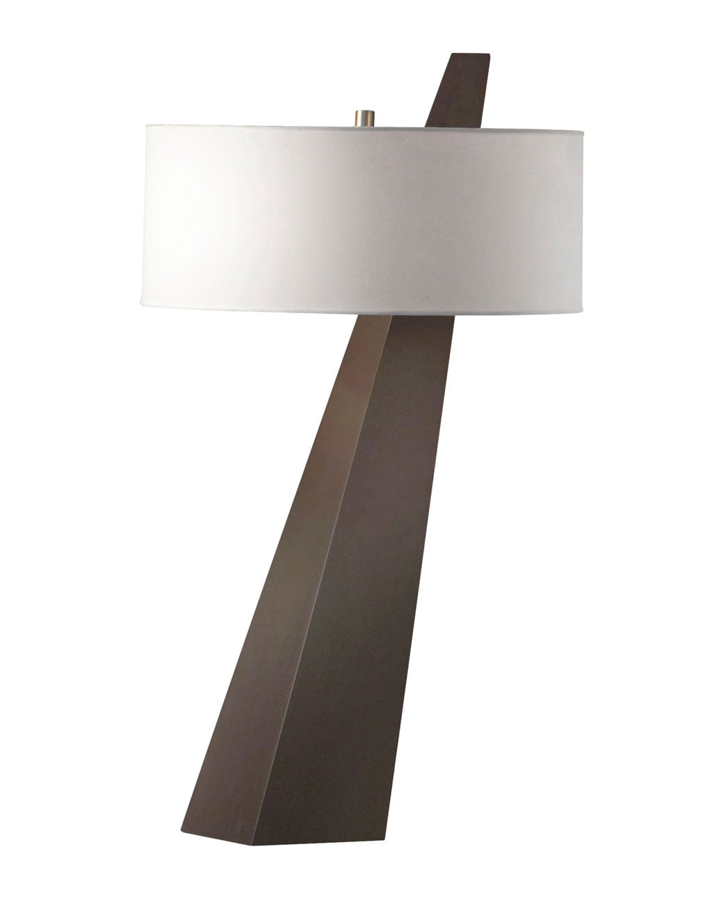 Obelisk Table Lamp, Chestnut