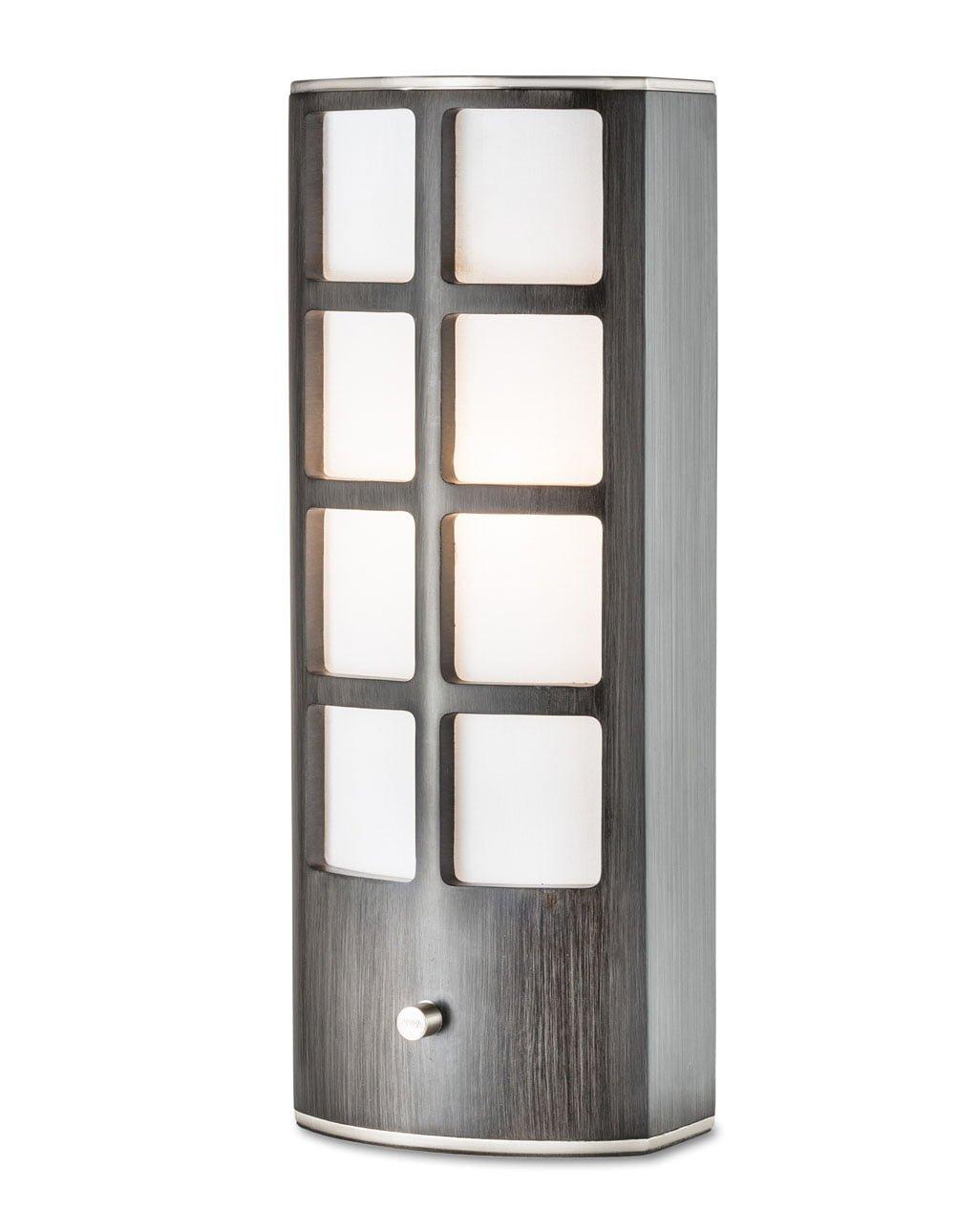 Ventana Accent Table Lamp, Brushed Aluminium