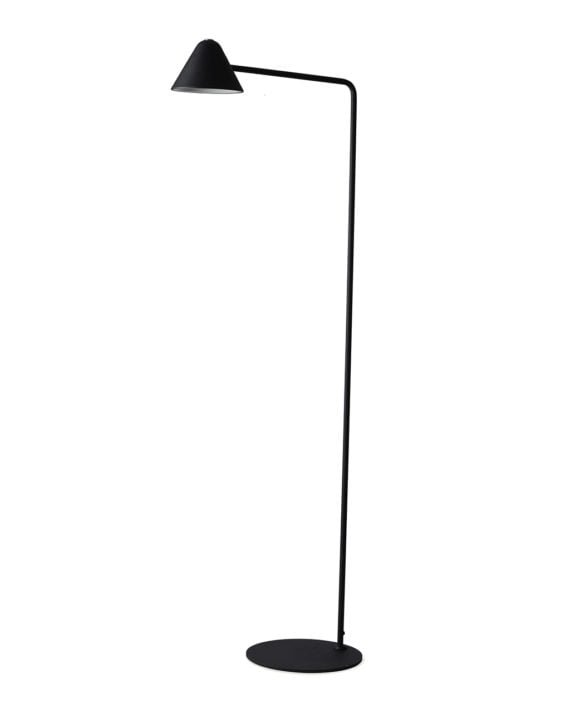 Cove Floor Lamp (Matte Black)