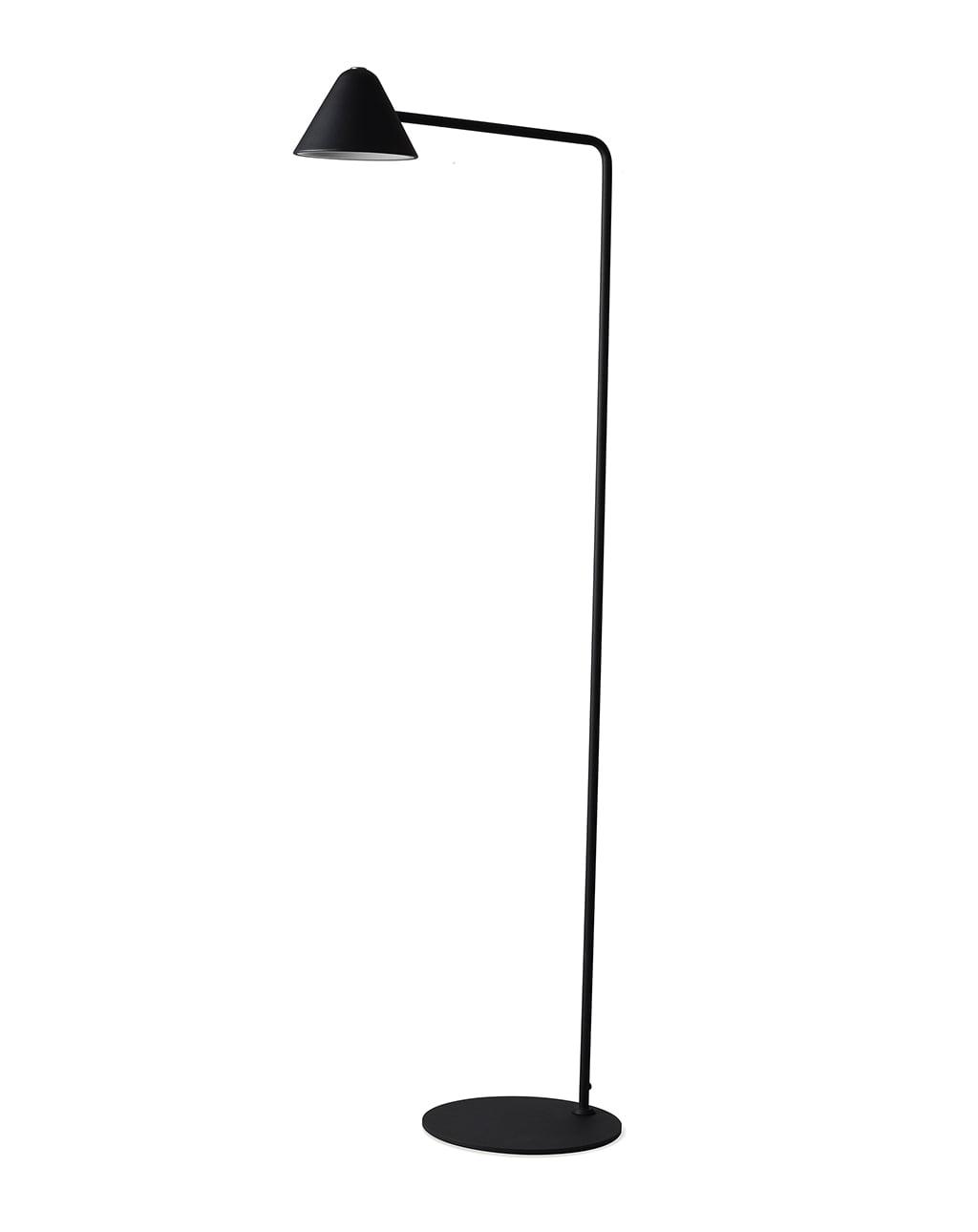 Cove Floor Lamp Matte Black