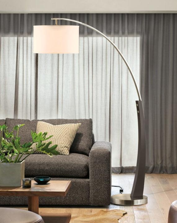 Plimpton Arc Lamp Lifestyle