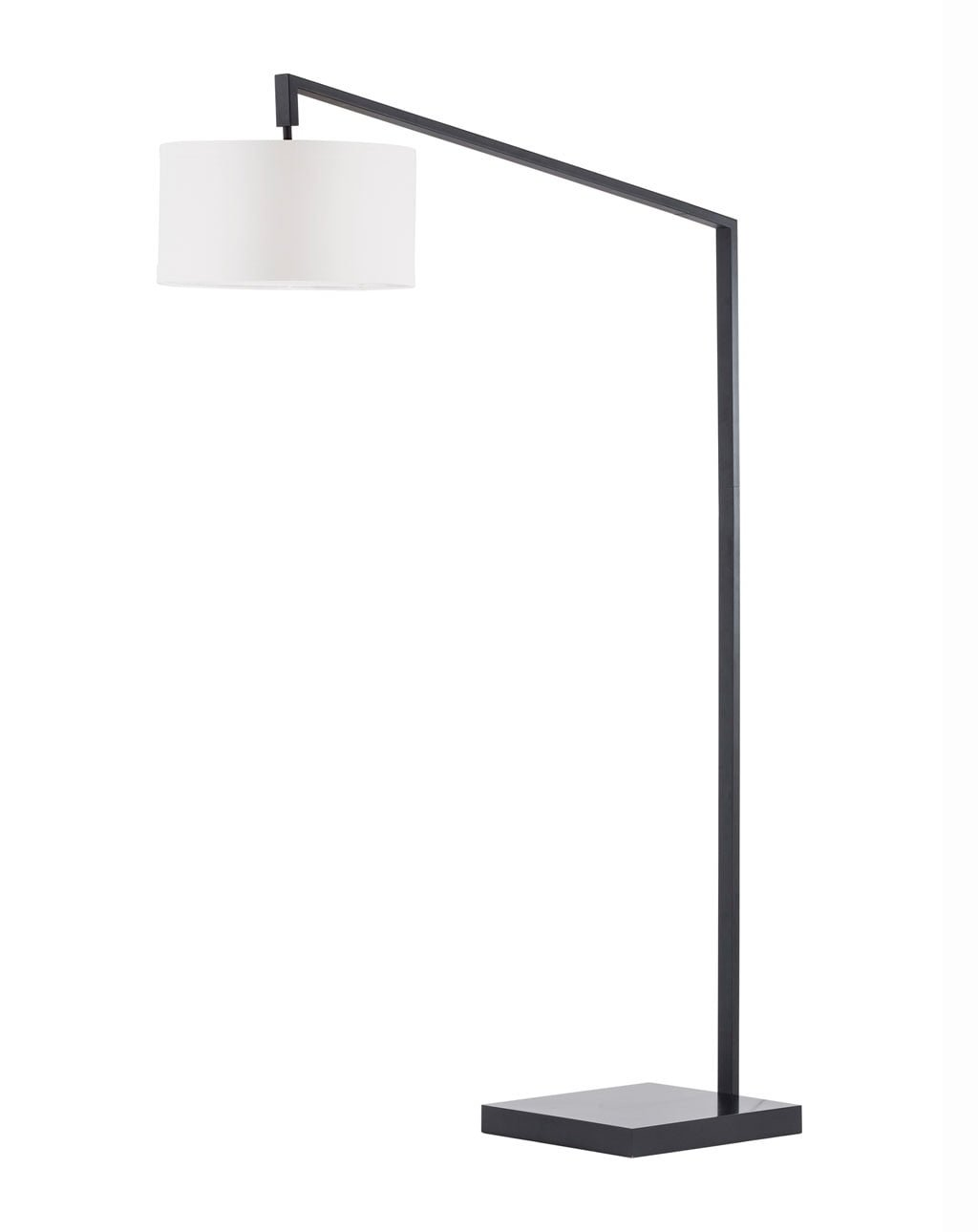 Stretch Chairside Arc Lamp, Matte Black