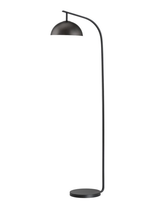 Domus Arc Floor Lamp (Gunmetal)