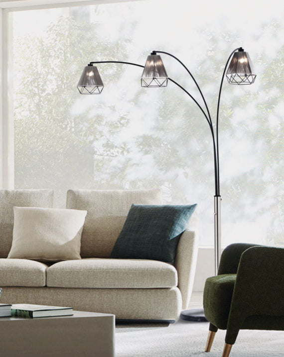 Polygon Floor Lamp Lifestyle