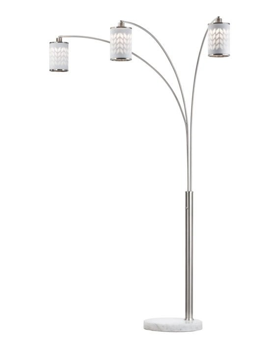 Flora 3-Light Arc Lamp