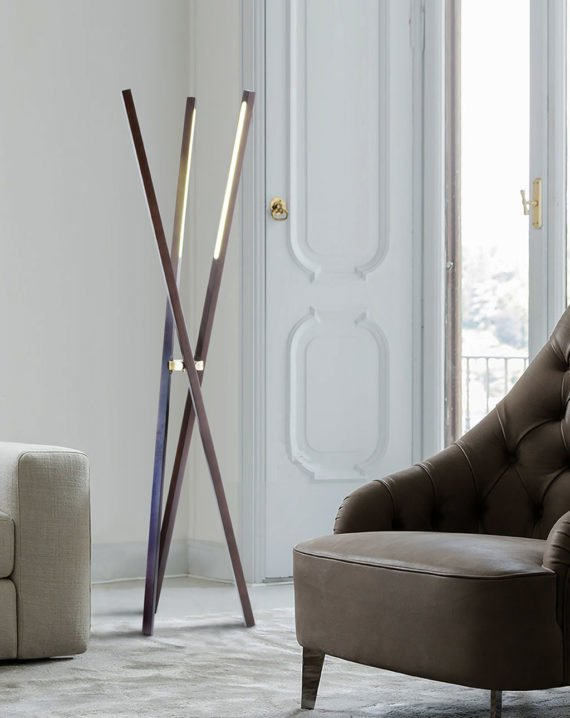Jackknife Tripod Floor Lamp Lifestyle