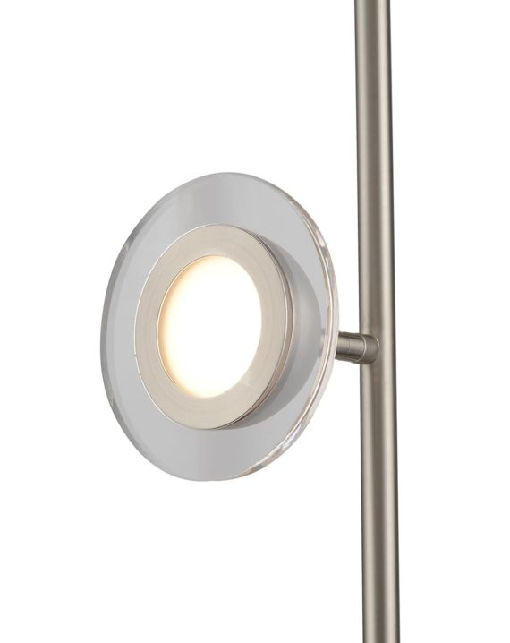 Laurel Floor Lamp (Satin Nickel) 02