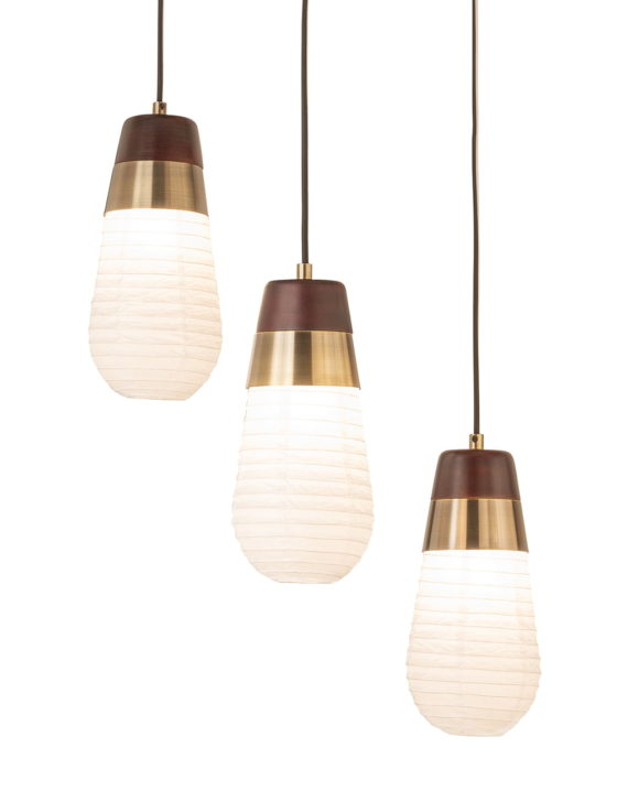 Sunset 3-Light Pendant Lamp