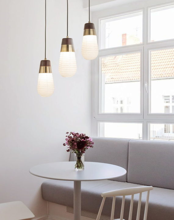 Sunset 3-Light Pendant Lamp Lifestyle