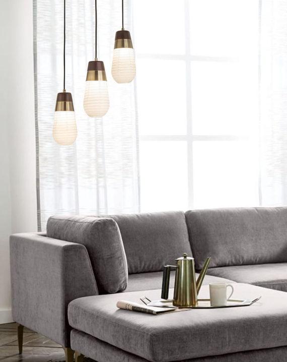 Sunset 3-Light Pendant Lamp Lifestyle 02