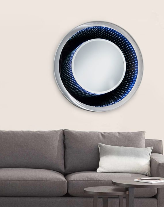 Vanishing Infinity Mirror Round Lifestyle