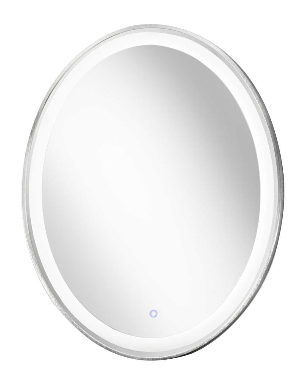 Pool Illuminated Mirror Oval, Silver