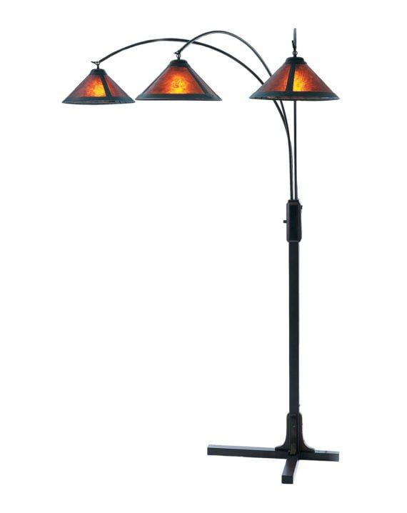 Mica 3-Light Arc Floor Lamp