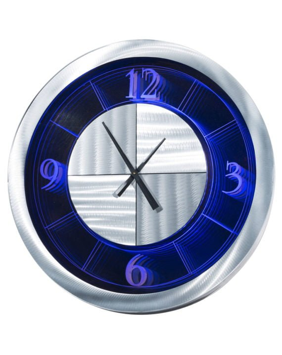 Moment Multi-Color Infinity Clock