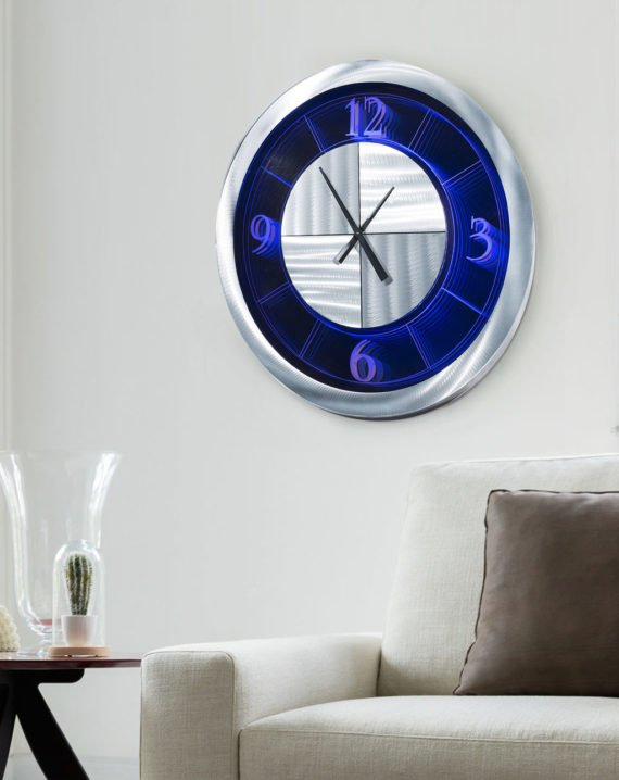 Moment Multi-Color Infinity Clock Lifestyle