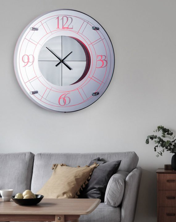 Alexandria Multi-Color Clock Lifestyle