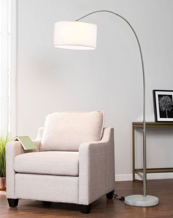 Float Arc Lamp Lifestyle