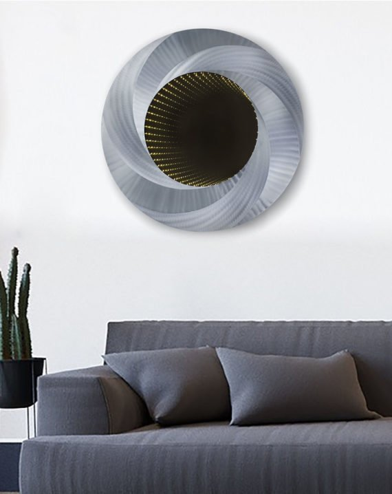Vortex Infinity Wall Mirror Lifestyle