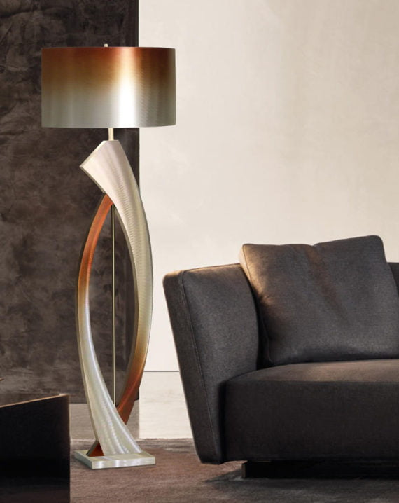 Swerve Floor Lamp Lifestyle