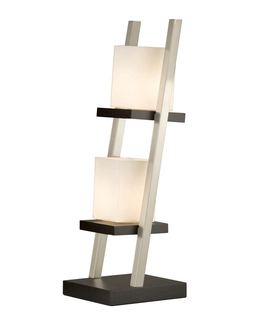 Escalier Table Lamp, Dark Brown