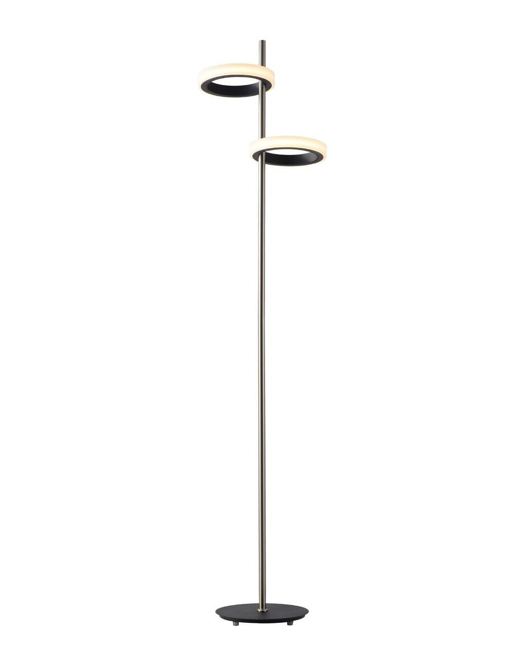 Aerial Floor Lamp, Antique Nickel