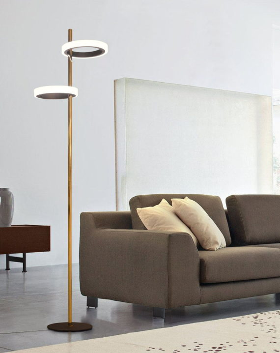 Aerial Floor Lamp (Brass) Lifestyle