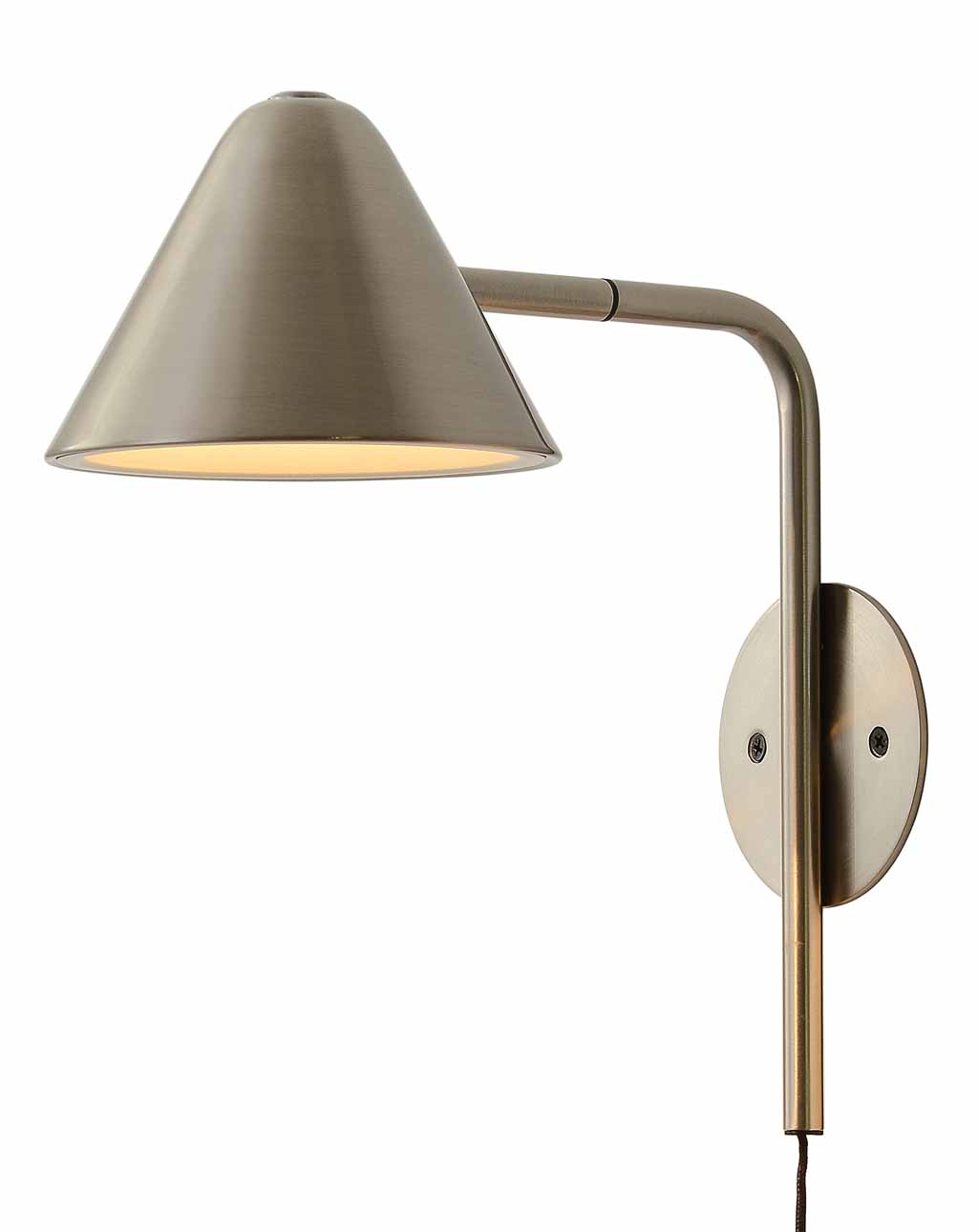 Cove Wall Sconce Satin Nickel