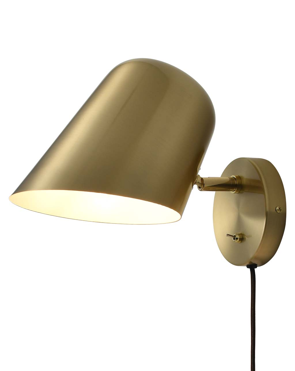 Culver Wall Sconce Brushed Brass