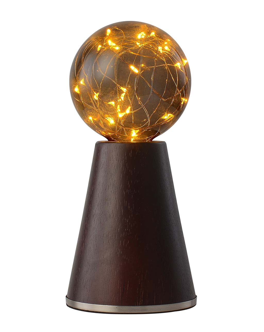 Eagle Rock Accent Lamp, Walnut Satin