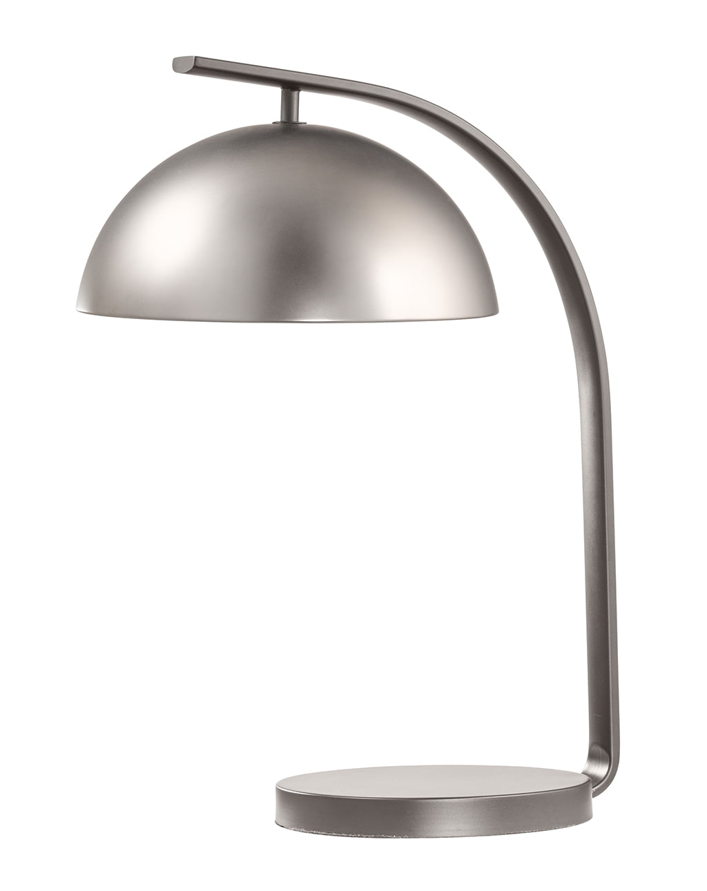 Domus Table Lamp, Satin Nickel