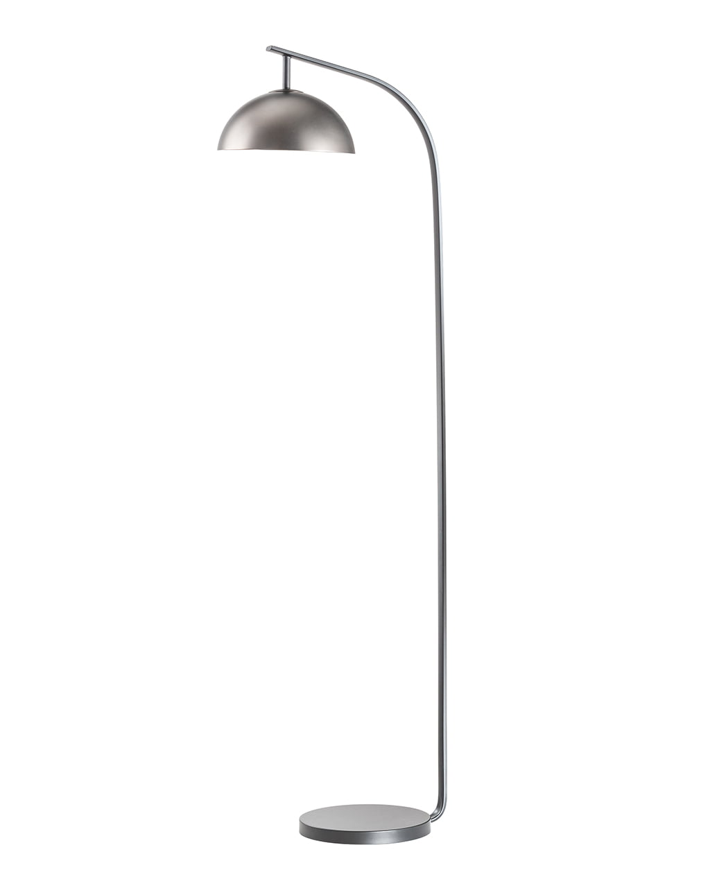 Domus Arc Lamp, Satin Nickel