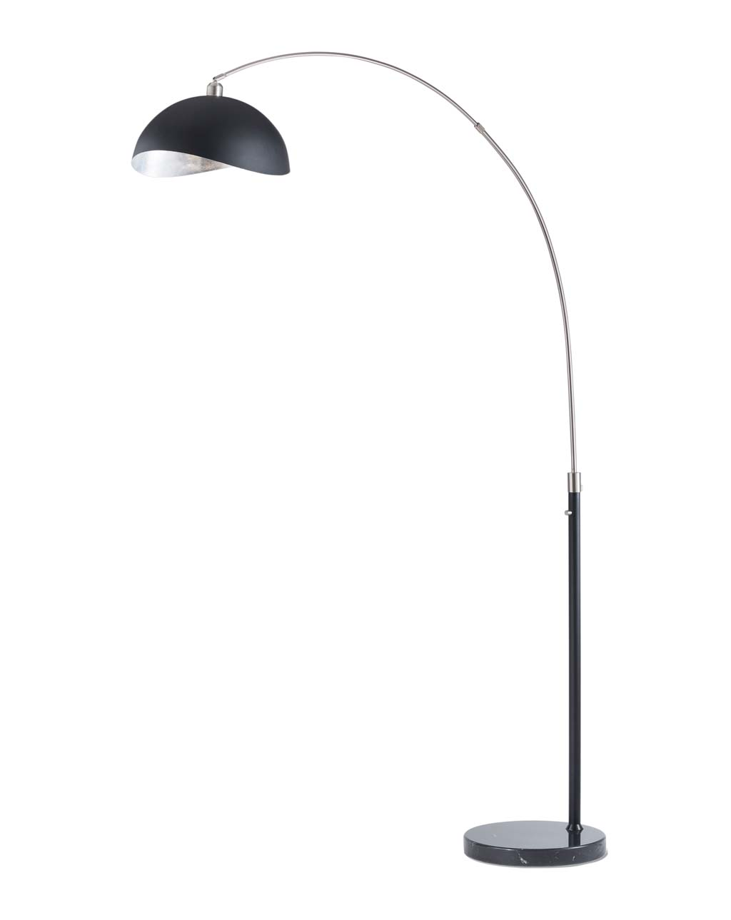 Luna Bella Arc Lamp, Brushed Nickel
